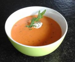 Tomatensuppe aromatisch