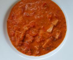Paprika-Fleischwurst-Topf