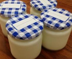 selbstgemachter Joghurt, cremig