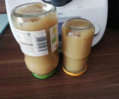 Apfelmark - Apfelmus ohne Zucker  ideal für Babybrei