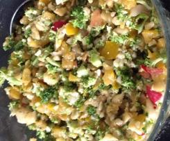 Rohkost Salat Parmesan