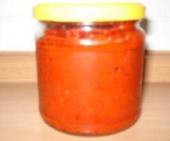 Feurige Sauce - auch als Dip