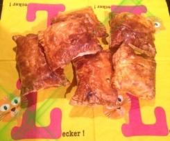 Herzhafte Blätterteigtaschen - 2 Füllungen
