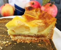 Bratapfel Vanille Kuchen