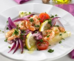 Salat alla Sicilia/ Sizilianischer Salat  (Salad Sicily style (Insalata ai sapori di Sicilia))