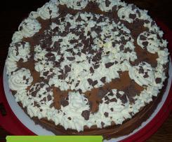 Schokoladen-Nougat-Torte
