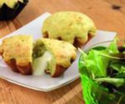 Zucchini-Parmesan-Küchlein