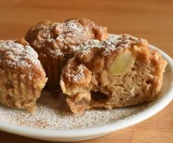 Apfel-Zimt-Muffins (12 Stück)
