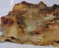 Lasagne mit Tomaten und Mangold