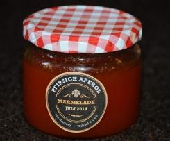 Pfirsich Aperol Marmelade