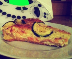 Zuchini-Lachs-Quiche