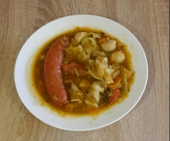 Spitzkohlsuppe