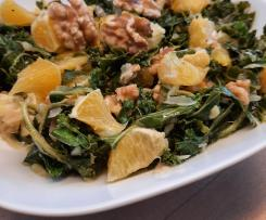 Grünkohl-Orangen-Salat