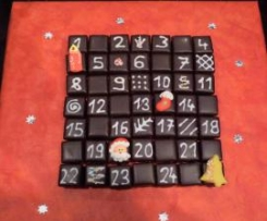 Domino-Adventskalender
