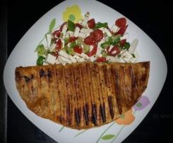 Tortilla Wrap mit Türkischer Hackfleischfüllung