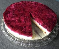 Beeren-Grütze-Torte für Figurbewusste