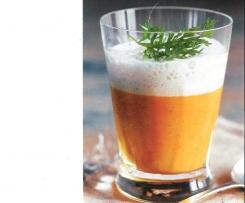 Möhren-Cappuccino