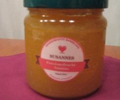 Urlaubstraum: Passionsfrucht-Ananas-Marmelade (Sommermarmelade)
