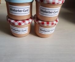 Rhabarber-Curd