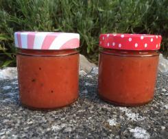 Pfirsich-Nektarinen-Maracuja-Marmelade