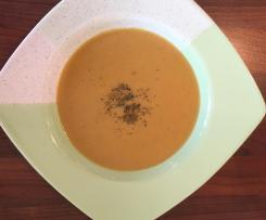 Rote-Linsen-Suppe / Mercimek Çorbası