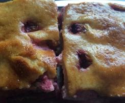 Zwtschgenploatz - Zwetschgenkuchen -Hefekuchen mit Obst nach Oma Gisela