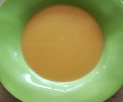 Süßkartoffel Kokos Suppe, vegan