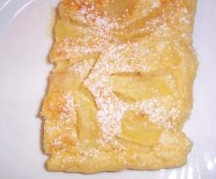 Pfannkuchen aus dem Backofen