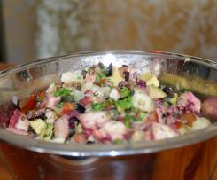 Pulpo (Oktopus) Salat