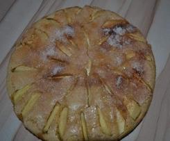 Apfelkuchen mit Joghurt (ohne Butter)