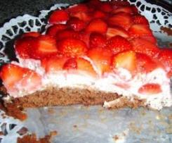 Erdbeer -Schoko- Ecken