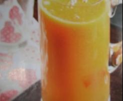 Papaya-Orangen-Saft (Zumo de papaya y naranja)