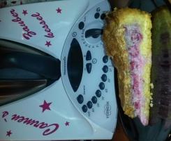 Johannisbeer-Baiser Kuchen