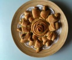 Kräuter-Rosen-Brot