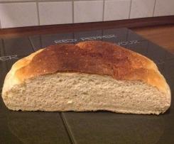 Brot mit Reste vom Kartoffelpüree