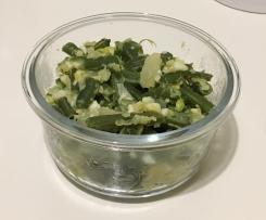 Bohnen/Kohlrabi Salat