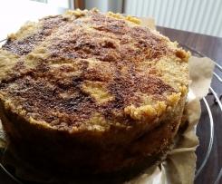 Apfelkuchen ohne Milch und Ei - glutenfrei