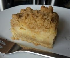 Apfelkuchen mit Streusel, vegan