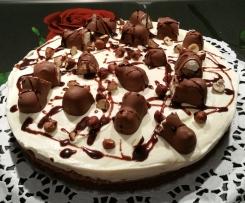 No Bake Choco Fresh Torte