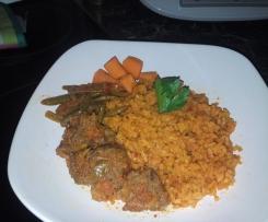 Roter Reisfleisch