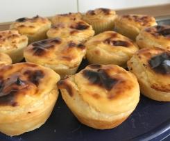Pasteis de Nata (Puddingtörtchen)