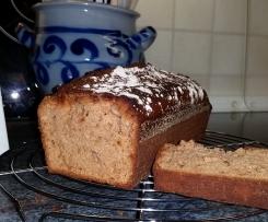 Ingwerbrot (Gingerbread) - Nicht nur zur Weihnachtszeit!