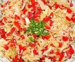 Gerrys Vitamingabe: Spitzkohl - Paprika-Salat mit Trüffelöl