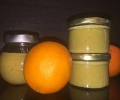 Orange-Curd Vanille