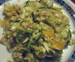 Spitzkohlsalat frisch und fruchtig
