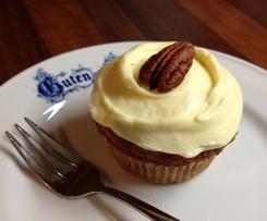 Hummingbird Cupcakes mit Frischkäse-Topping