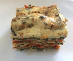 Spinat-Gorgonzola-Lasagne