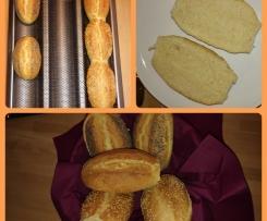 Schnelle Weizen-/Dinkelbrötchen zum Frühstück
