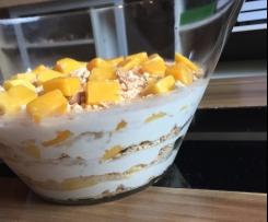 Mango-Butterkeks-Dessert