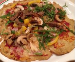 Thunfisch-Pizza - super bei der HCG Stoffwechselkur